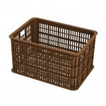 Fietskrat Crate large 50 liter - Saddle Brown