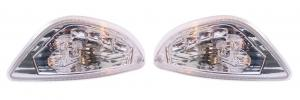 Knipperlichtset LED Vespa LX-50/125/150 Links+Rechts/Achter Clearline